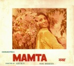 Rare poster featuring Suchitra Sen from the film 'Mamta'