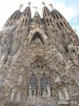 Sagrada Familia is a magnificent basilica, known for its detailed exterior and interior design.