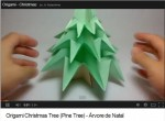 Easy To Make Origami Christmas Tree And Christmas Greeting Cards