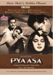 Guru Dutt's Pyaasa is considered a classic of Indian cinema.