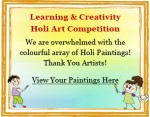 Holi Art Competition Winners