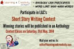 L&C invites short stories to be published in an anthology (in e-book format).