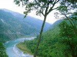 A view of the Teesta River valley near Kalimpong. Pic: Anuj Kumar Pradhan (Wikimedia Commons)