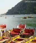Naini lake is the heart of the hill station
